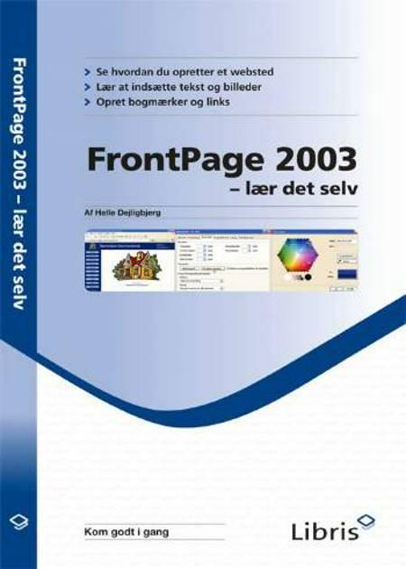 Frontpage 2003 - lær det selv af Helle Dejligbjerg