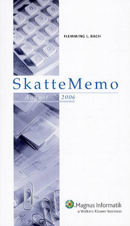 SkatteMemo, August 2006