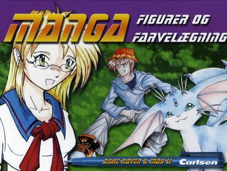 MANGA - figurer og farvelægning af Ashe Raven og May Li