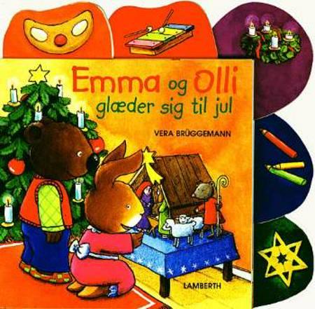 Emma og Olli glæder sig til jul af Vera Brüggemann