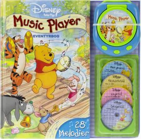 Music player - eventyrbog af A. A. Milne