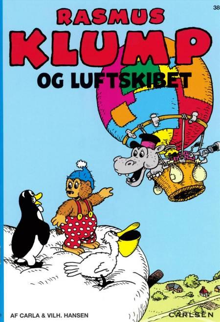 Carla og Vilhelm Hansens Rasmus Klump og luftskibet af Carla Hansen og Per Sanderhage