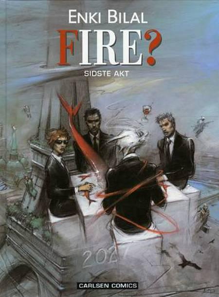 Fire? af Enki Bilal