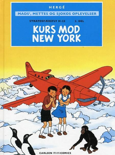 Stratosfærefly H-22 Kurs mod New York af Hergé