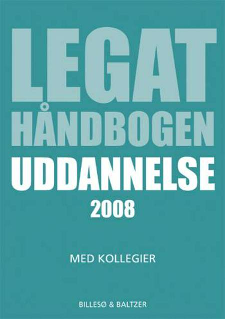 Legathåndbogen uddannelse af Per Billesø og Berit Jylling
