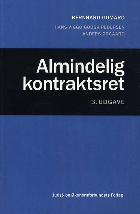 Almindelig kontraktsret af Bernhard Gomard, Hans Viggo Godsk Pedersen og Anders Ørgaard