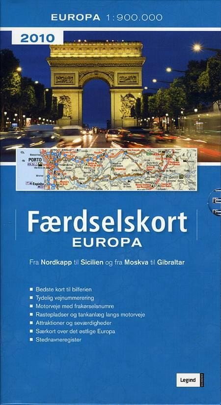 Færdselskort Europa 2010
