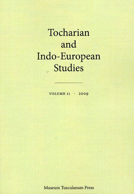 Tocharian and Indo-European Studies