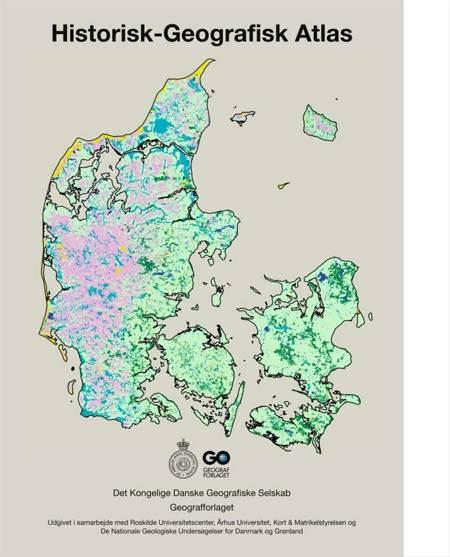 Historisk-geografisk atlas af Peder Dam og Johnny Grandjean Gøgsig Jakobsen