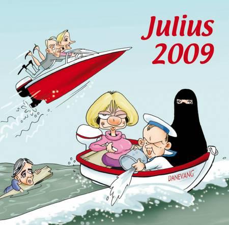 Julius tegninger 2009 af Jens Julius Hansen