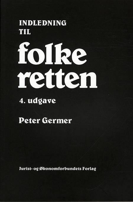 Indledning til folkeretten af Peter Germer