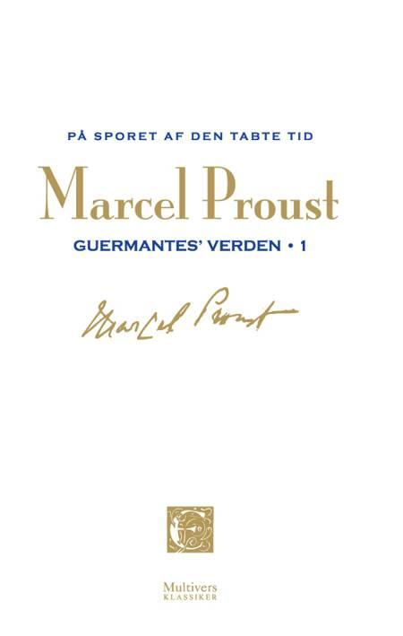 På sporet af den tabte tid: Guermantes verden 1 af Marcel Proust