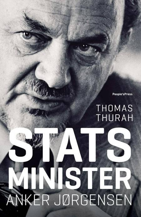 Statsminister Anker Jørgensen af Thomas Thurah