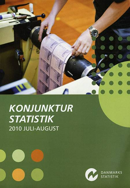 Konjunkturstatistik 2010 Juli-August