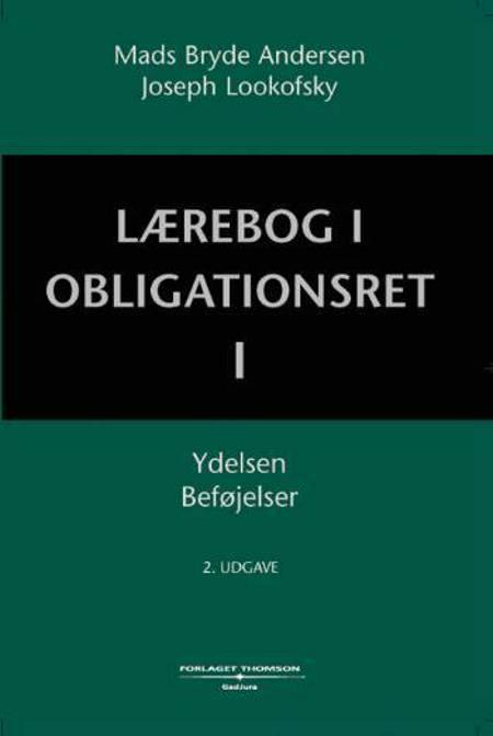 Lærebog i obligationsret af Mads Bryde Andersen og Joseph M. Lookofsky