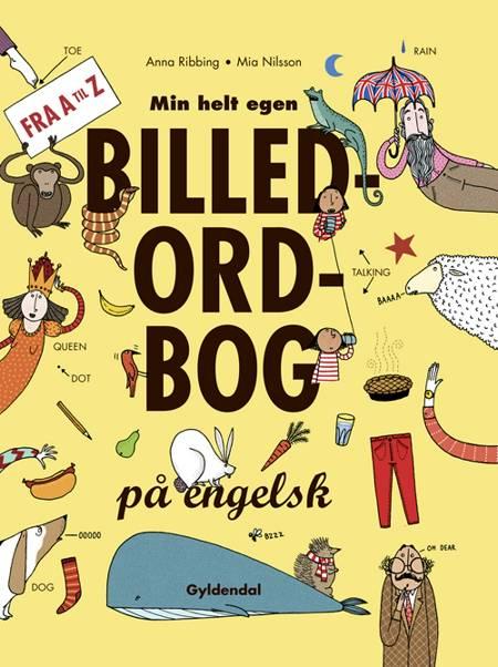 Min helt egen billedordbog på engelsk af Anna Ribbing