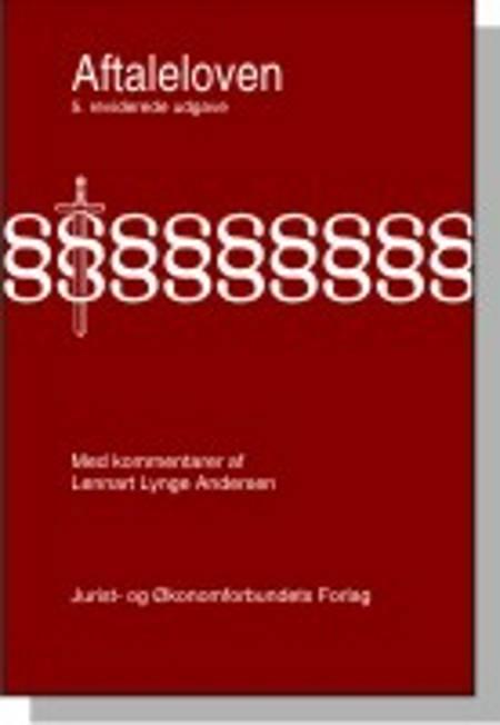 Aftaleloven med kommentarer af Lennart Andersen