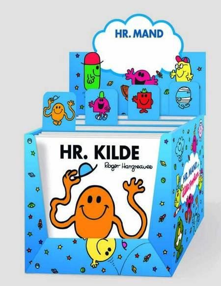 Hr Mand æske - inklusiv 24 Hr. Mand bøger af Roger Hargreaves