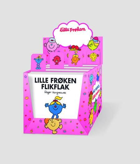 Lille Frøken æske - inklusiv 24 Lille Frøken bøger af Roger Hargreaves