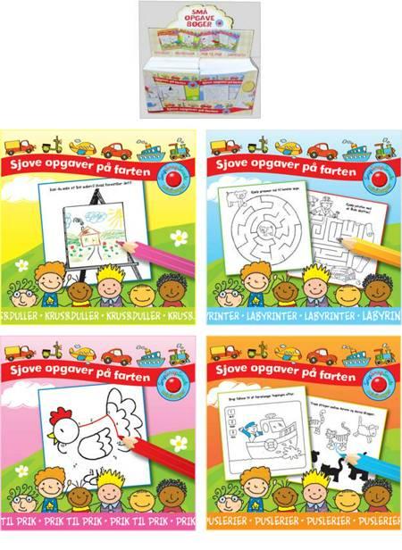 Mini-aktivitetsbøger 1-4