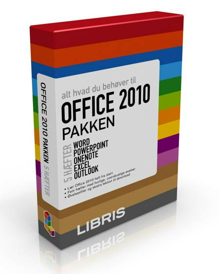 Office 2010 pakken - 5 hæfter til Office 2010 af Andersen, Nyhus og Kristensen m. fl.