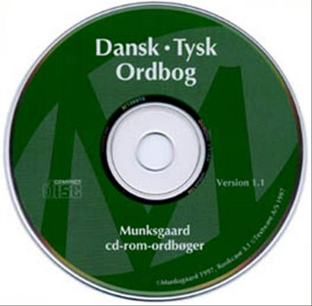 Cd-rom. dansk-tysk 10-bruger af Henrik Lange, Henrik Bergstrøm-Nielsen og Henry Verner Larsen