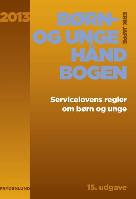 Børn- og ungehåndbogen 2013 af Erik Jappe