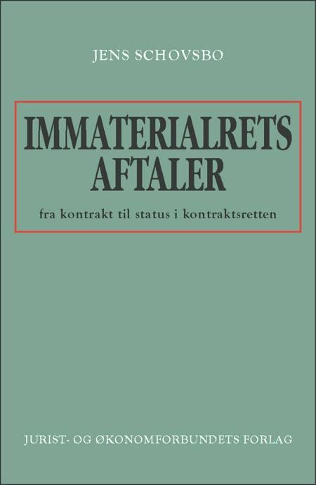 Immaterialretsaftaler af Jens Schovsbo