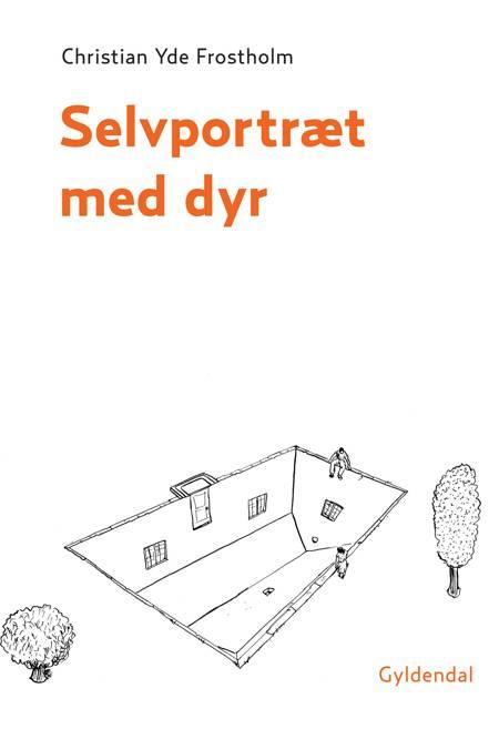 Selvportræt med dyr af Christian Yde Frostholm