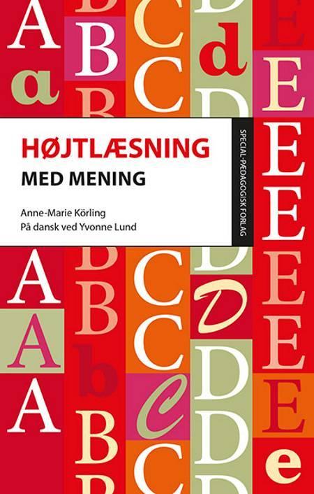 Højtlæsning med mening af Anne-Marie Körling