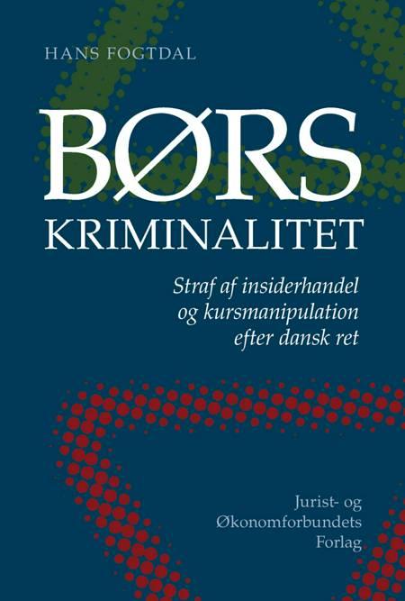 Børskriminalitet af Hans Fogtdal