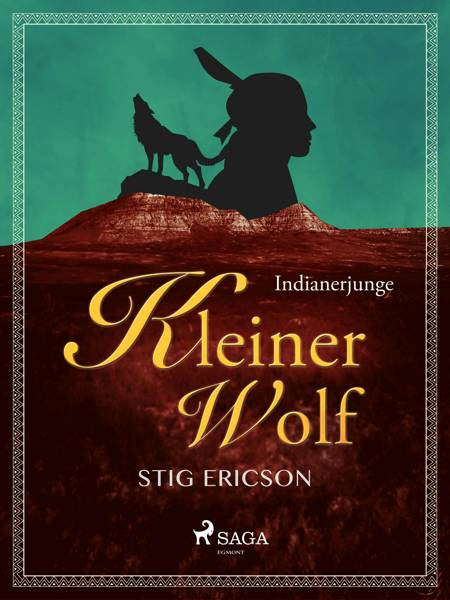 Indianerjunge Kleiner Wolf af Stig Ericson