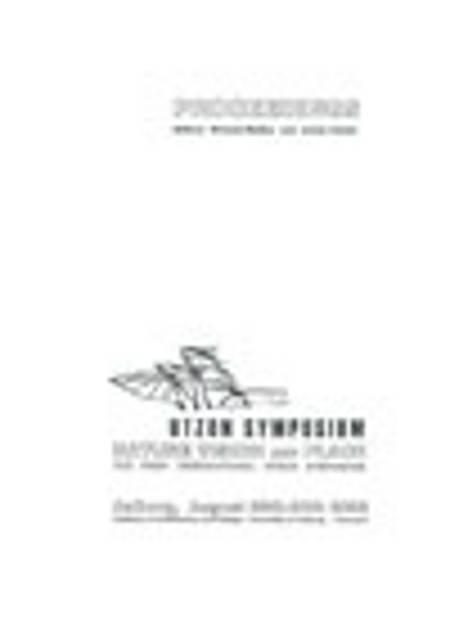 Proceedings - Utzon Symposium: Nature, Vision and Place af Michael Mullins and Adrian Carter