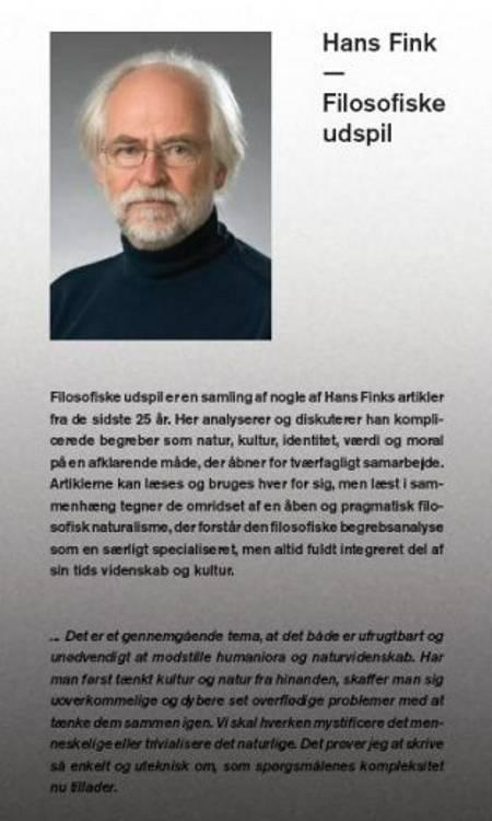 Filosofiske udspil af Hans Fink