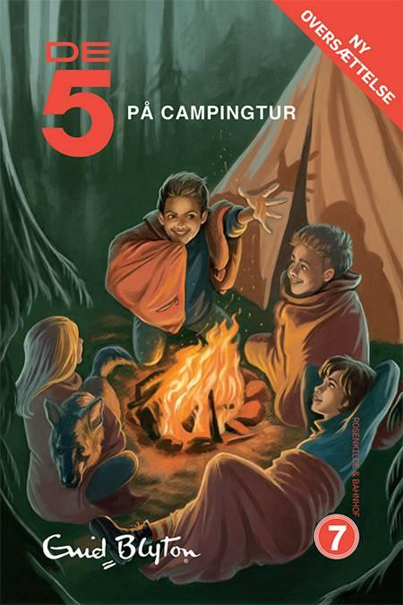 De 5 på campingtur af Enid Blyton