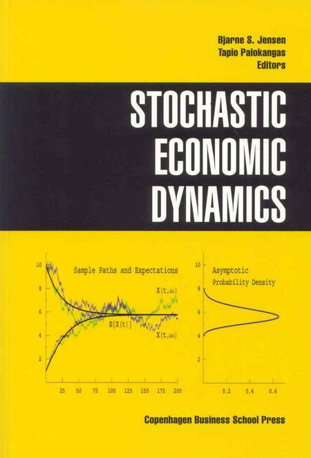 Stochastic Economic Dynamics af Bjarne S. Jensen og Tapio Palokangas
