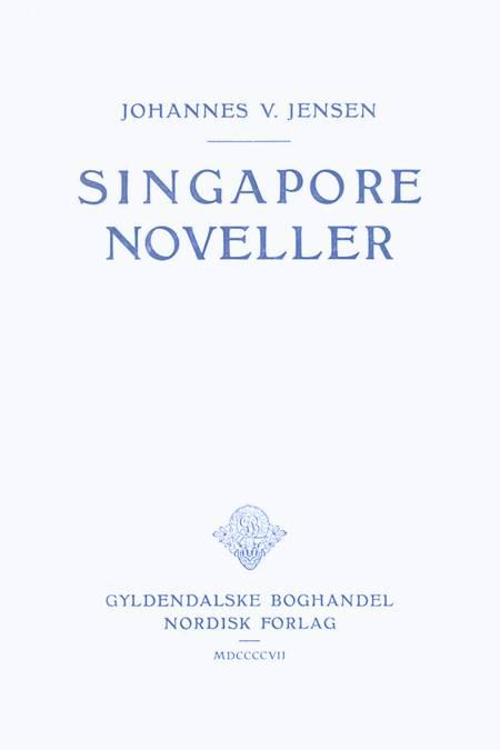 Singaporenoveller af Johannes V. Jensen