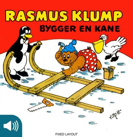Rasmus Klump bygger en kane af Vilhelm Hansen og Carla Hansen