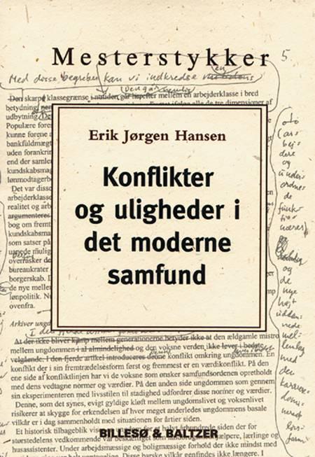 Konflikter og uligheder i det moderne samfund af Erik Jørgen Hansen