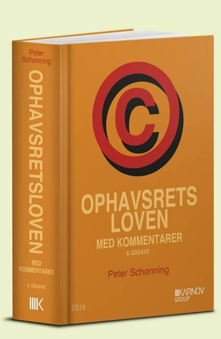 Ophavsretsloven med kommentarer af Peter Schønning