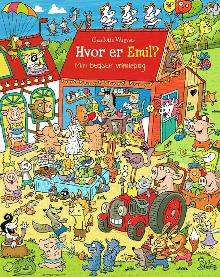 Hvor er Emil? af Charlotte Wagner