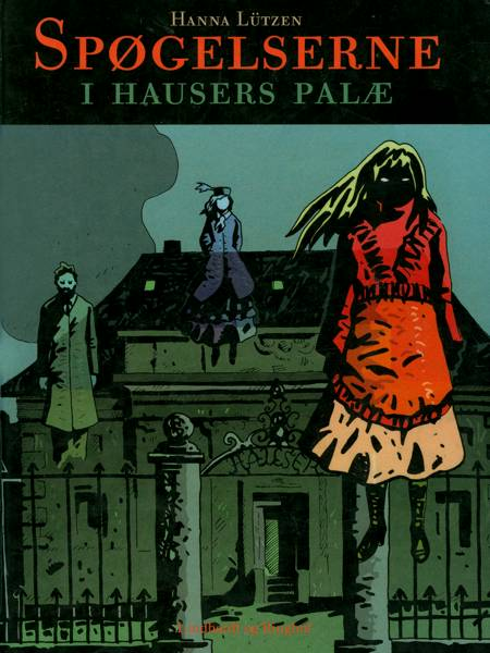 Spøgelserne i Hausers Palæ af Hanna Lützen