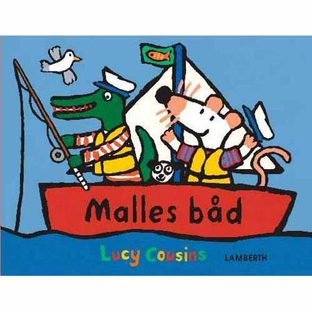 Malles båd af Lucy Cousins