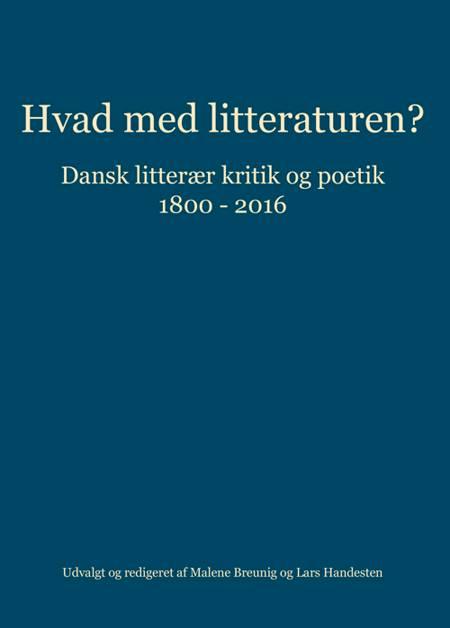 Hvad med litteraturen?