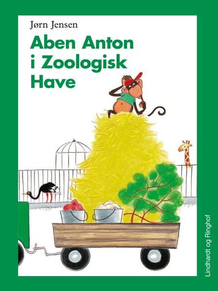 Aben Anton i Zoologisk have (svær udgave) af Jørn Jensen
