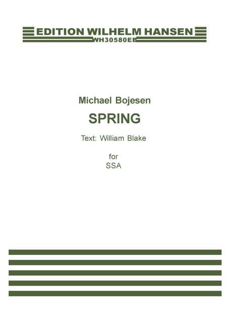 Spring af William Blake og Michael Bojesen