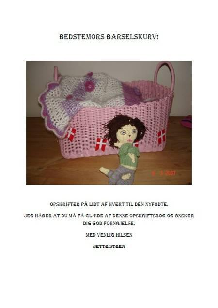 Bedstemors barselskurv af Jette Steen