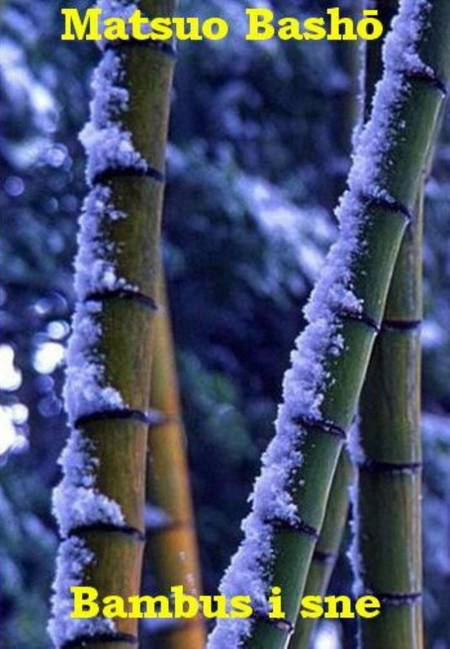 Bambus i sne af Matsuo Basho