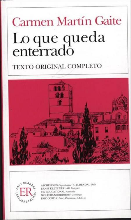 Lo que queda enterrado af Carmen Martín Gaite