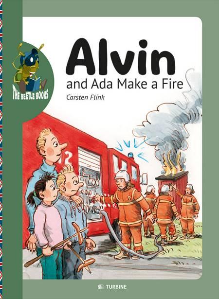 Alvin and Ada make a fire af Carsten Flink